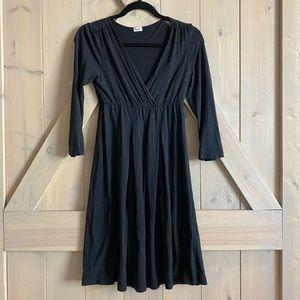 Splendid soft little black dress lbd skater basic